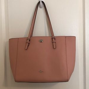 Coach Turn Lock Tote